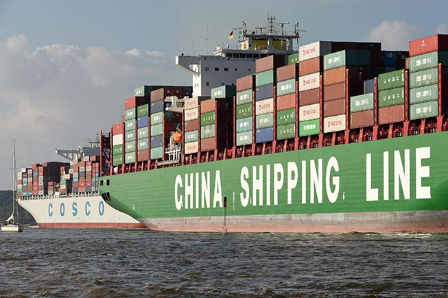 China Cosco Shipping Group eyes top tier in global container
