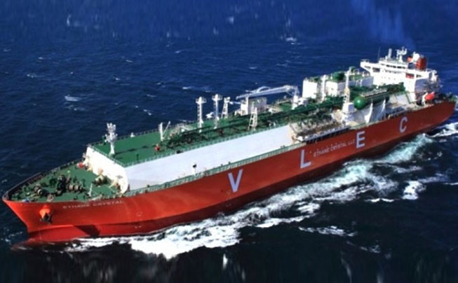 World's largest ethane carrier makes maiden voyage to India