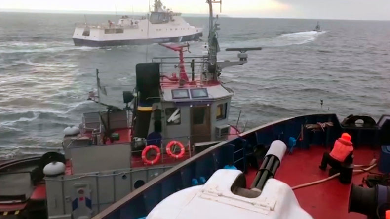 Alleged confrontation in the Kerch Strait