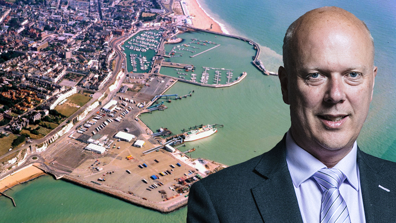 Chris Grayling and Ramsgate