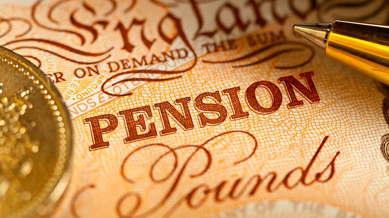 pension pounds
