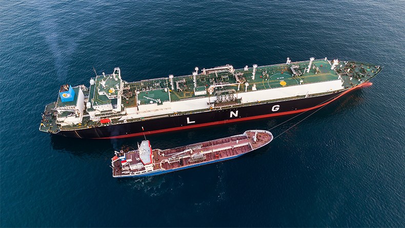 Bunkering LNG