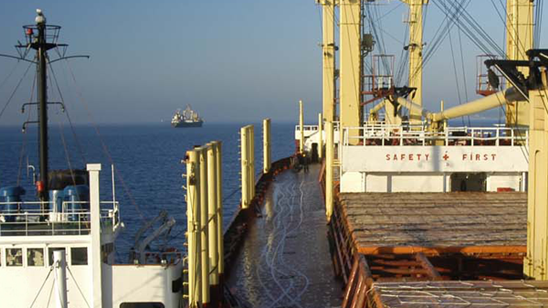 NYK and BHP bunker vessel with biofuel using blockchain :: Lloyd's List