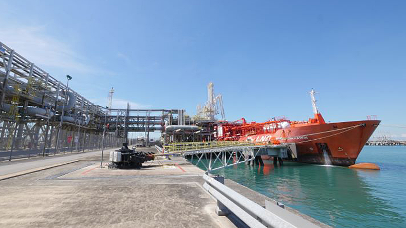 Norgas Innovation at SLNG terminal