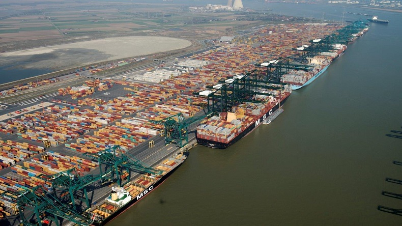 Antwerp container terminals