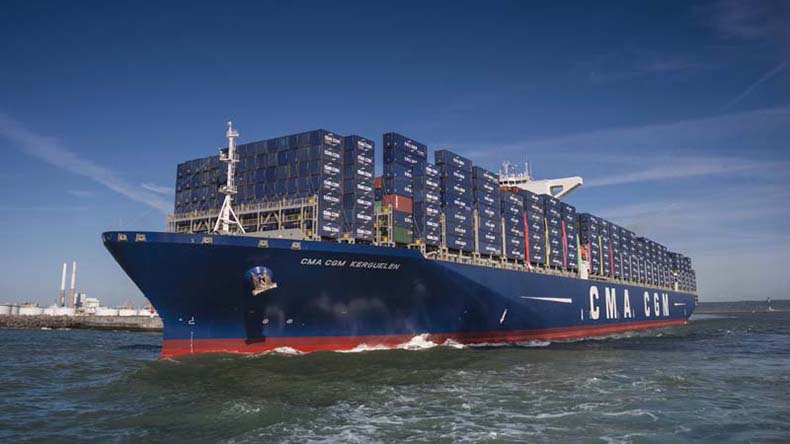 the 18,000 teu CMA CGM Kerguelen