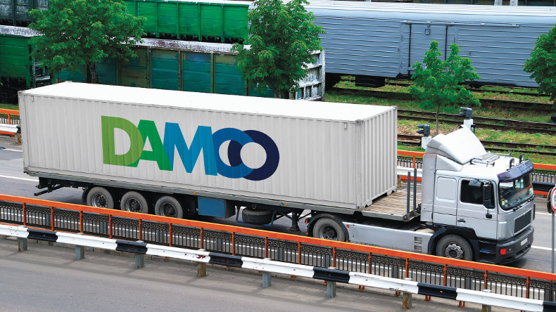 Damco truck Asia