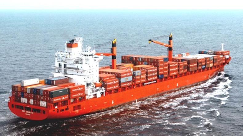 Diana COntainerships Doukato 2002-built, 3,739 teu panamax