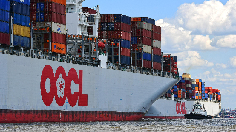 OOCL containerships logo