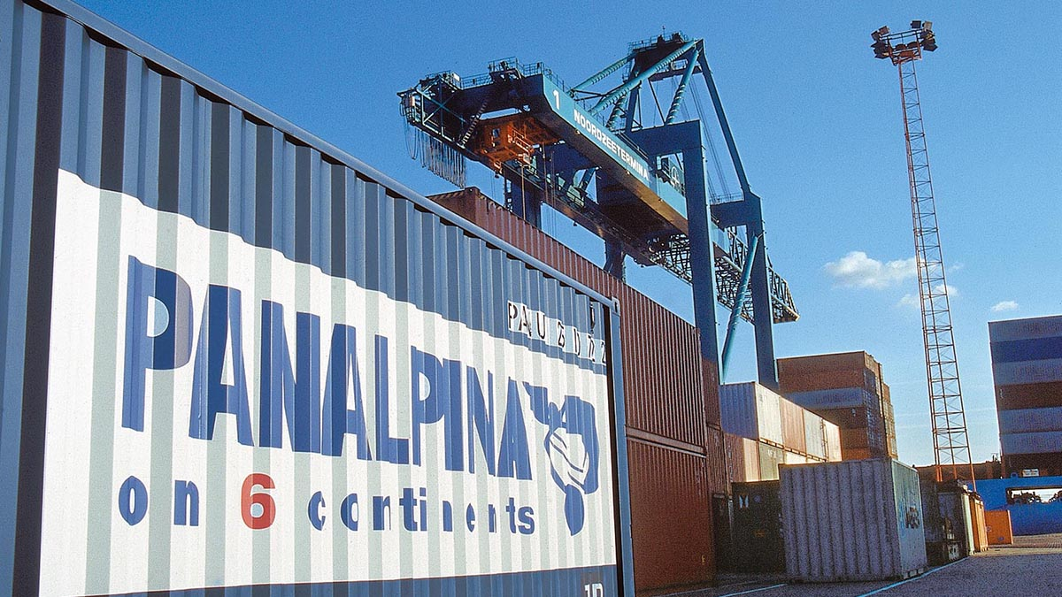 Panalpina container