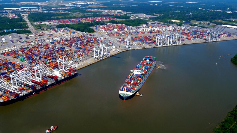 Port of Savannah, USA