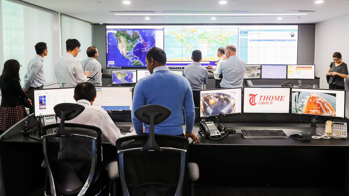 Shipmanager Thome opens fleet operations hub in Singapore