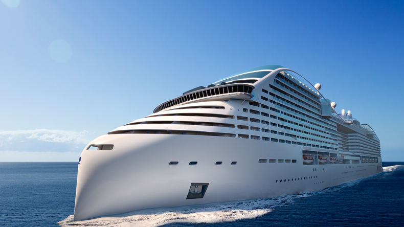MSC Cruises' World Class ships will be powered by LNG