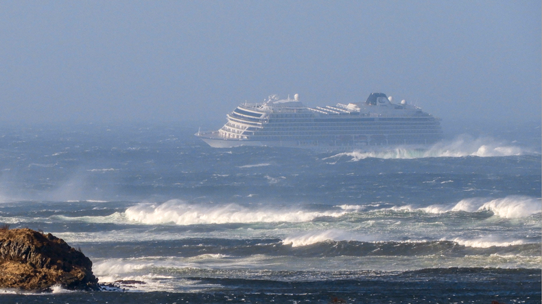 Viking Sky in rough weather
