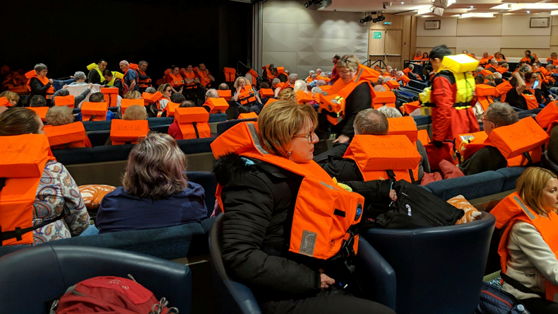 Viking Sky passengers wait for helicopter evacuation 23032019