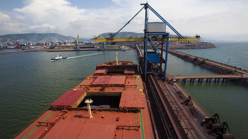 dry bulk carrier loading