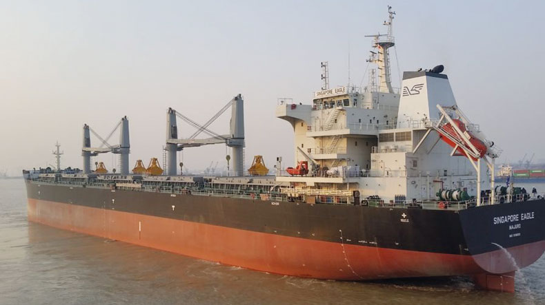 Eagle Bulk ultramax Singapore Eagle