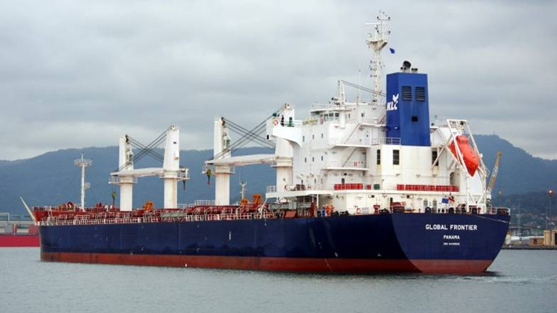 Korea Line Corp Global Frontier bulk carrier