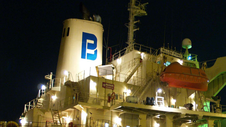Pacific Basin vessel funnel