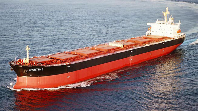 Safe Bulkers post-panamax Martine