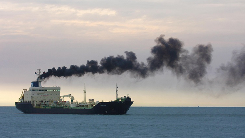 To hit the IMO's CO2 target, shipping should be producing less than 470m tonnes by 2050.