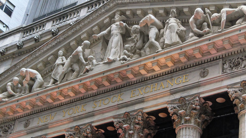 Wall Street, the New York Stock Exchange