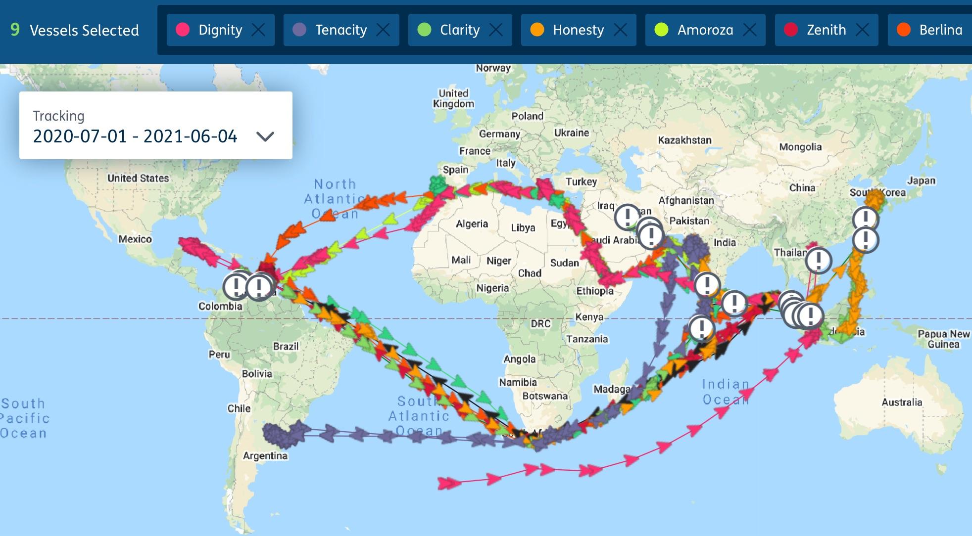 Venezuela oil shipments