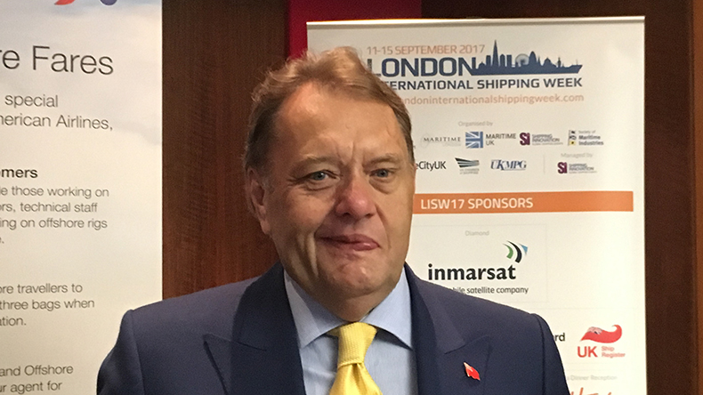 UK Department for Transport Minister of State John Hayes MP