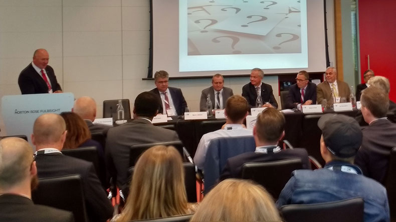 Panel at LISW shipmanagers forum
