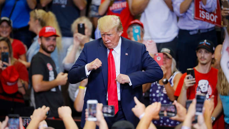 Donald Trump in Cincinnati 010819