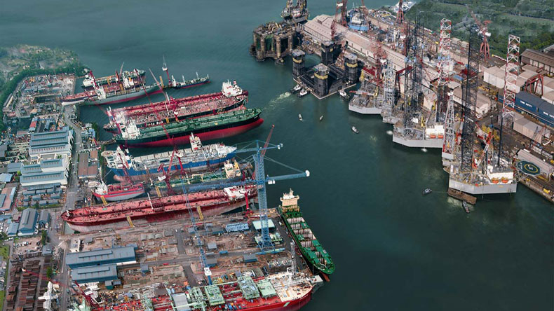 Keppel Offshore & Marine yard