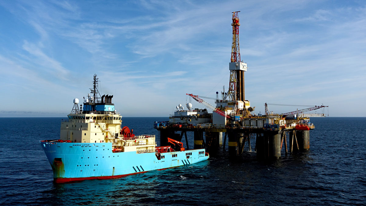 Maersk offshore oil operations