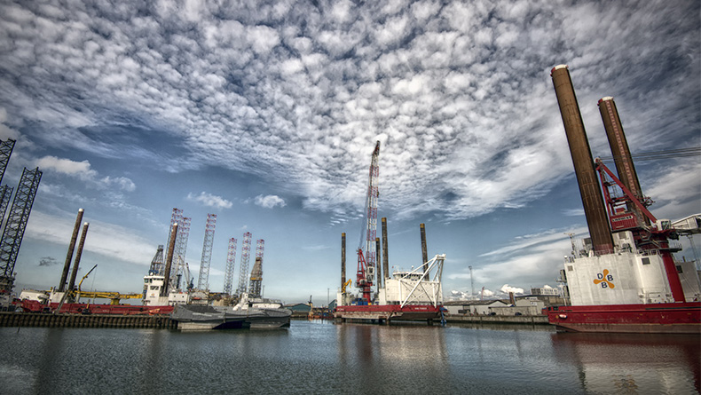Offshore construction jack-up vessels and offshore wind operations and maintenance