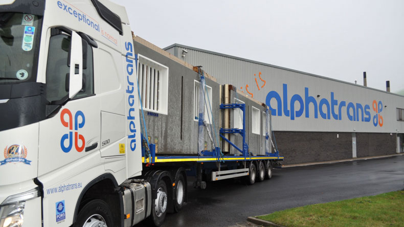 Alphatrans lorry