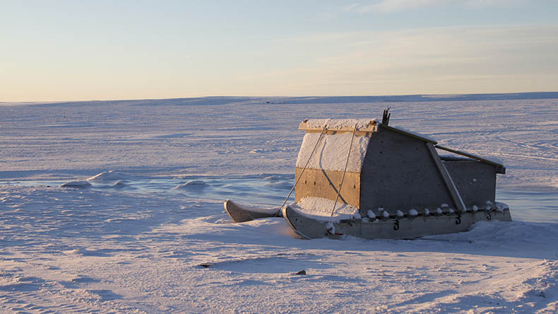 Canada Arctic Inuit sled By Sophia Granchinho / Shutterstock