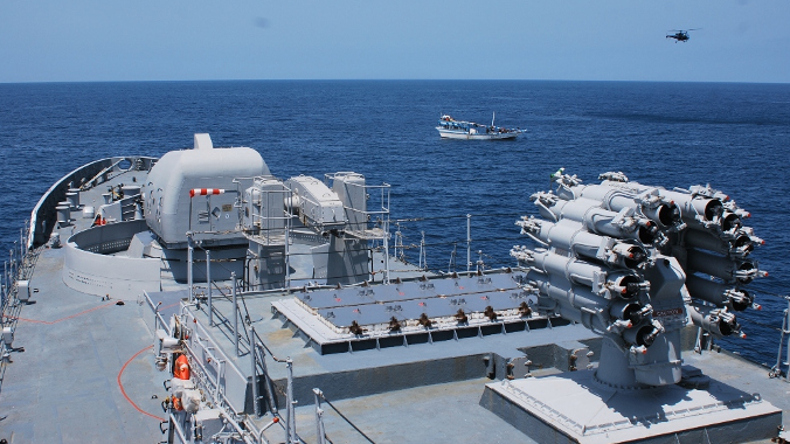 Indian navy anti-piracy measures in the Gulf of Aden