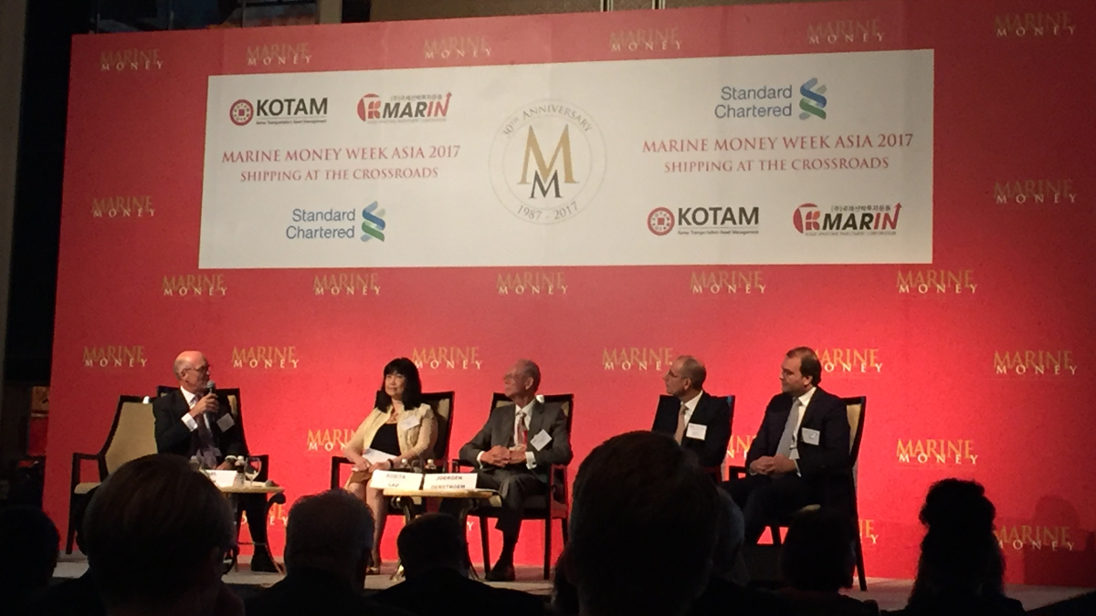 Marine Money trade panel discussion