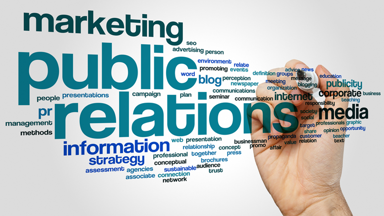 Marketing and PR concept image