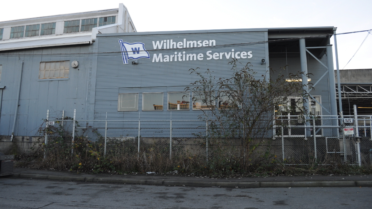 Wilhelmsen Maritime Services, Harbor Island, Seattle, Washington, USA.