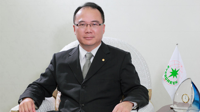 Anchor Chang, chairman of Evergreen Marine