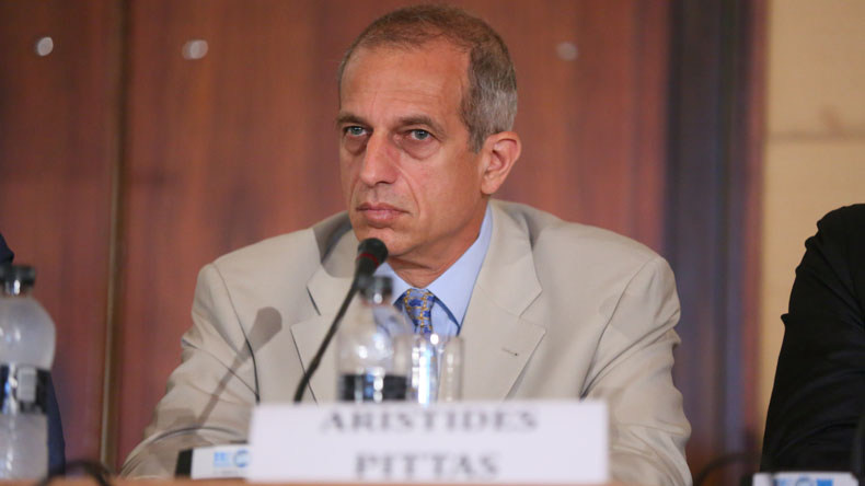 Euroseas chief Aristides Pittas