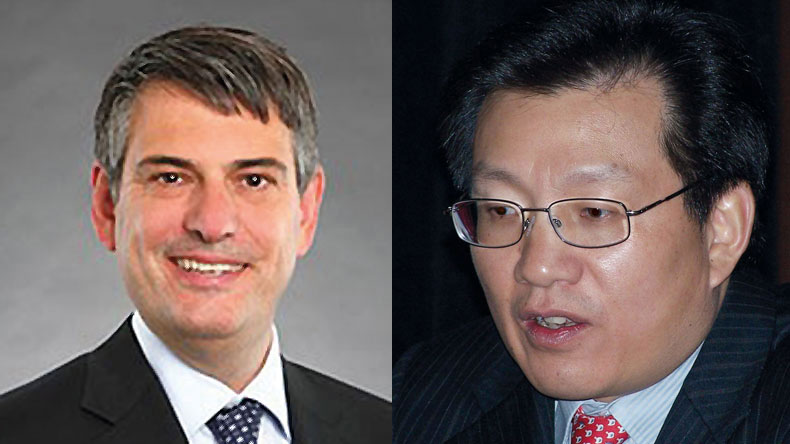 Graham Porter and Gerry Wang