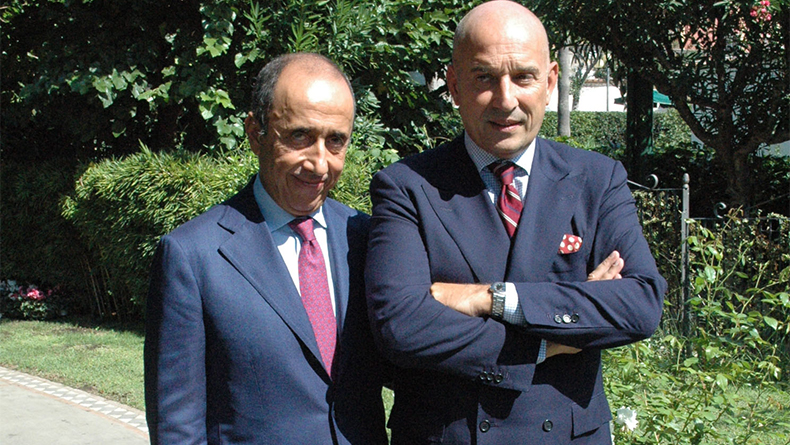 Gianluca, left, and Emanuele Grimaldi, group president and managing director, Grimaldi Group