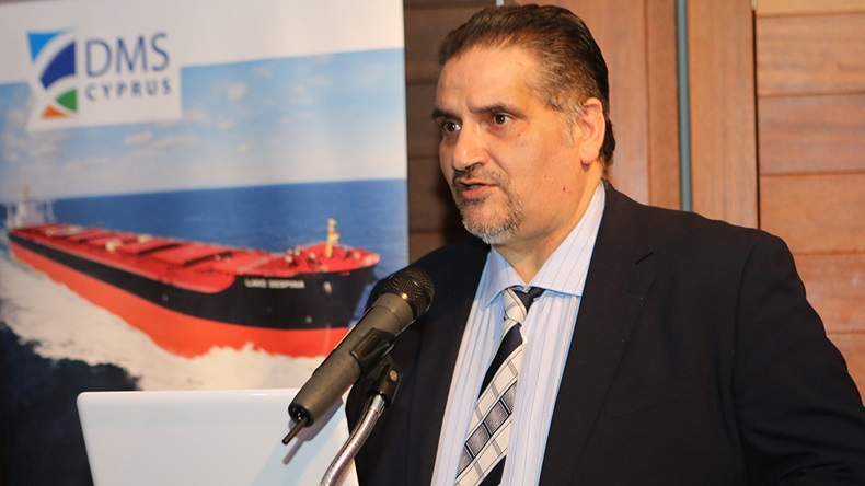 Ioannis Efstratiou, acting director of the Department of Merchant Shipping, Cyprus