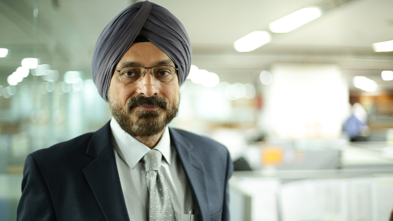 Essar Shipping chief executive and executive director Ranjit Singh
