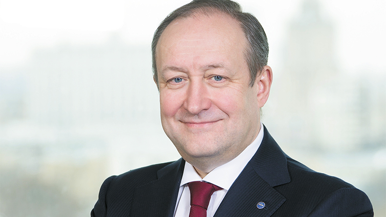 Sergey Frank, chief executive, Sovcomflot