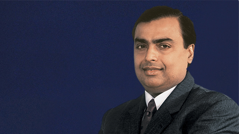 Shri Mukesh Ambani, chairman and managing director, Reliance