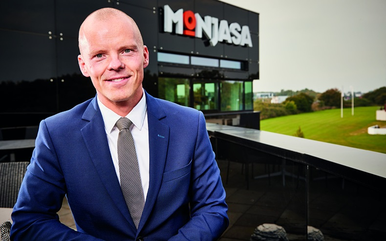 Monjasa chief operating officer Svend Stenberg Molholt