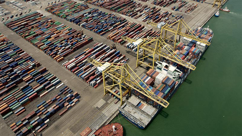 Barcelona: increases in import and export trade. © Port de Barcelona