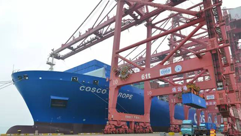 Lianyungang_China Cosco